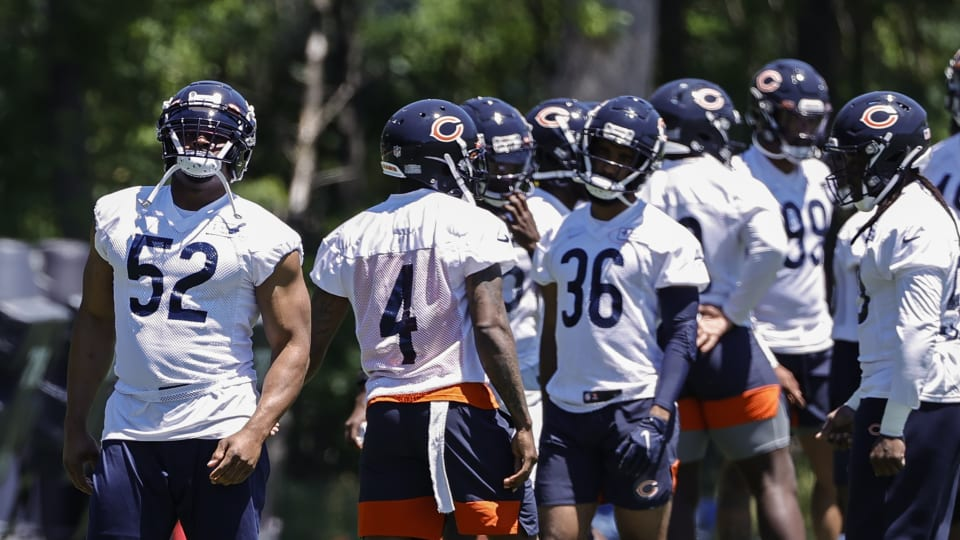 Pointing Out Bears Minicamp Winners, Losers
