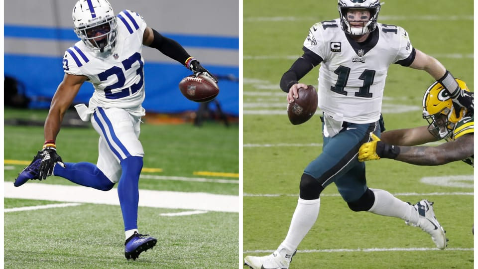 PFF: Kenny Moore II, Carson Wentz Have Colts' Best, Worst Contracts, Respectively