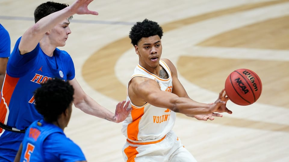 Sixers Select Tennessee's Jaden Springer in 2021 NBA Draft