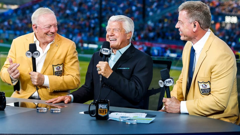 Coach Jimmy Johnson to Cowboys Ring of Honor on 'Monday Night Football' vs. Eagles?