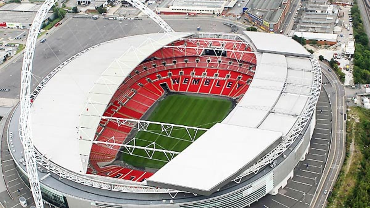 new wembley stadium nods to its forebearer, seeks own history - sports  illustrated