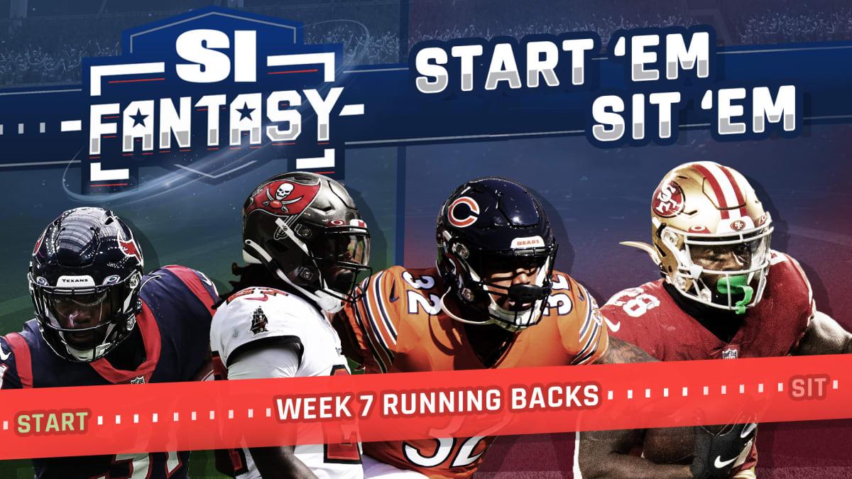 Fantasy Football Start Em Sit Em Week 7 Running Backs Fades Matchups Sleepers Dfs Bargains Sports Illustrated