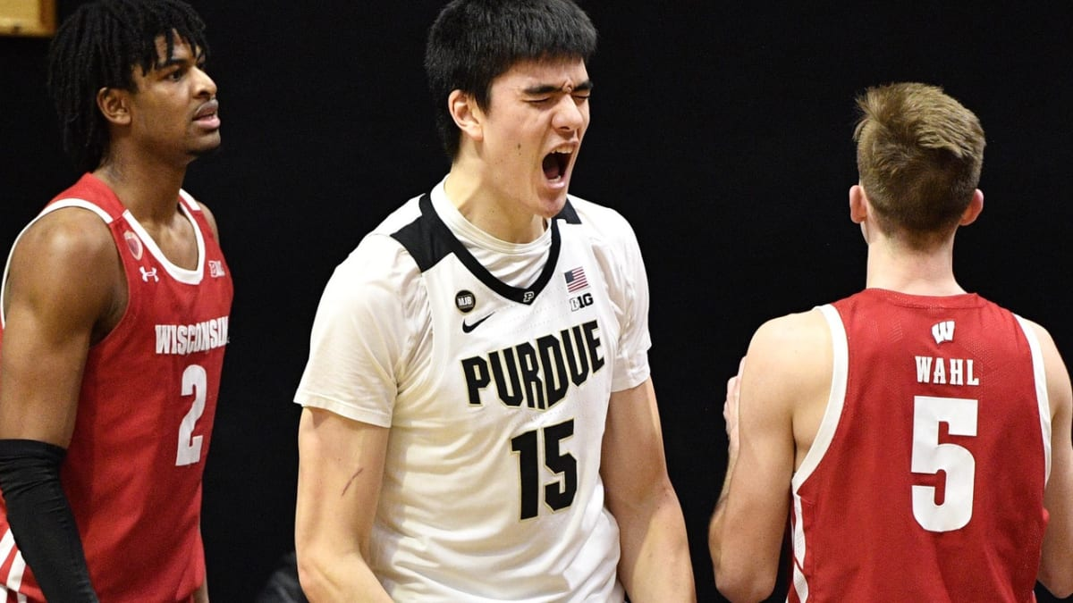 Purdue Freshman Zach Edey Teaches Wisconsin's OId-Timers a Lesson - Sports Illustrated Purdue Boilermakers News, Analysis and More