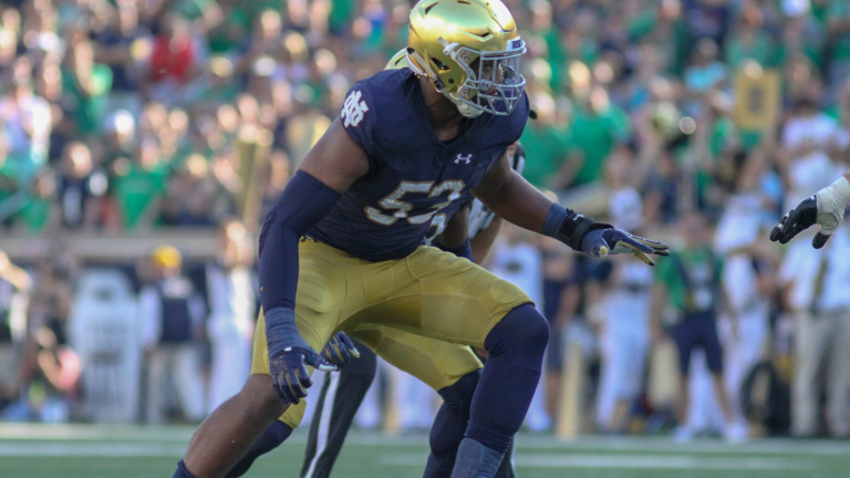 Inside The Numbers: Notre Dame Defense vs. Virginia Tech Offense
