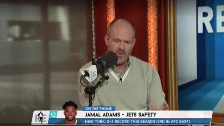 WATCH: Jets' Jamal Adams Tells Rich Eisen He's 'Not Focused' on Trade Rumors