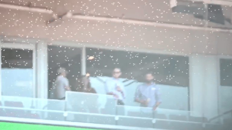 Watch: Reds vs. Giants Delayed Due to Massive Swarm of Bees