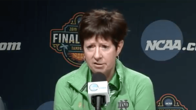 Watch: ND Coach Muffet McGraw Says 'We Don't Have Enough Women in Power'