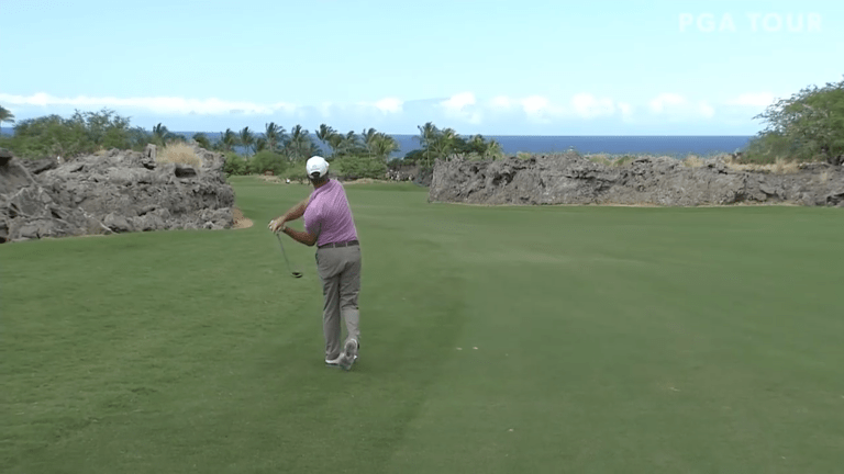 Watch: Champions Tour Player Makes Luckiest Eagle Imaginable