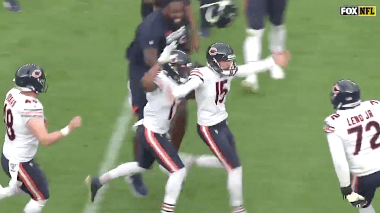 Eddy Pineiro Makes 53-Yard FG to Give Bears Edge Over Broncos in Wild Finish