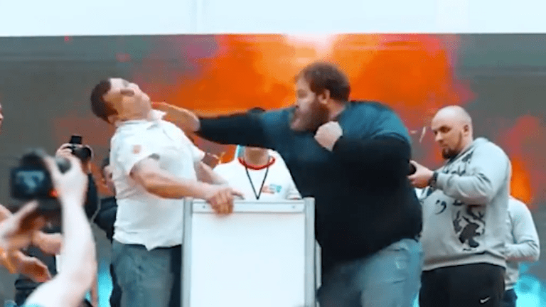 Thursday's Hot Clicks: The Russian Slapping Championships Are Absolutely Brutal