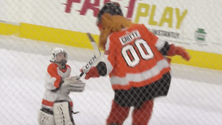 Thursday's Hot Clicks: Another Kid Fought Gritty and Whacked Him With His Stick
