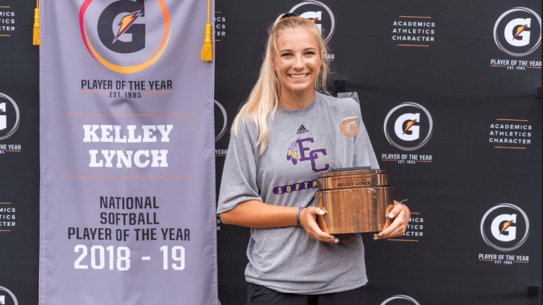 Kelley Lynch Named Gatorade National High School Softball Player of the Year