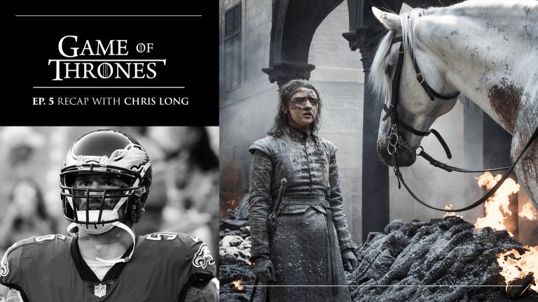 King's Landing 'Thrones' Episode Criticism Overcooked, Says Chris Long