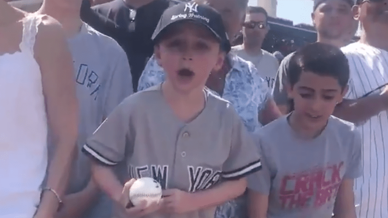 Watch: Young Yankee Fan Didn't Want Any Part of Manny Machado