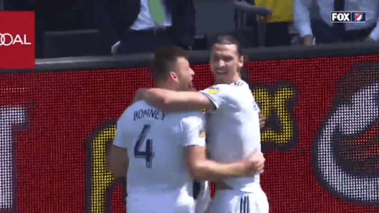 ¡QUÉ BÁRBARO! Zlatan se puso en modo héroe para anotar su 2do gol y darle los 3 puntos al Galaxy