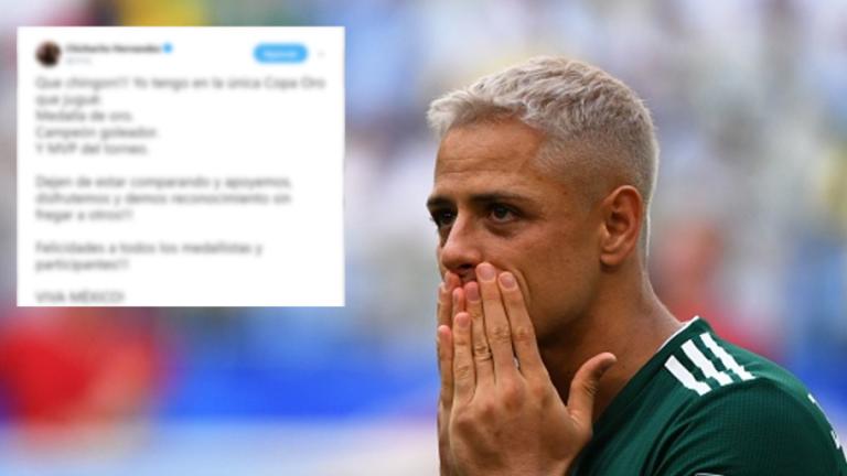 ¡DE NUEVO!   Javier Hernández vuelve a picarse con los fans en las redes sociales