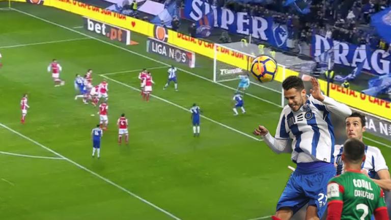 VÍDEO | El gol de Diego Reyes con el Porto que lo hace el jugador más peligroso en el aire