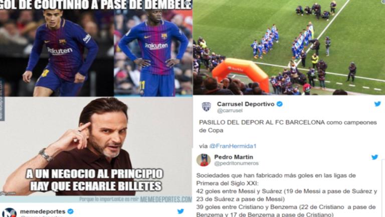 Los mejores 'tweets' de la victoria del Barça que le proclama campeón de Liga (2-4)