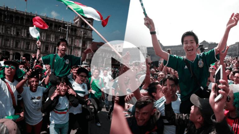 DESCONTROL   El coreano que fue ovacionado en hombros en el Zócalo de la CDMX