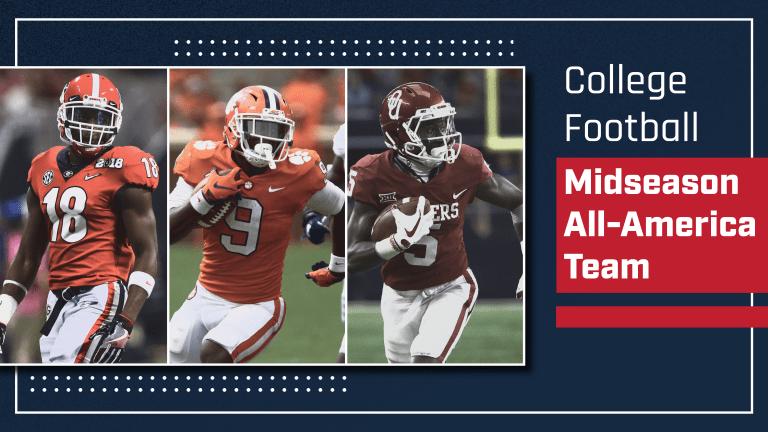 College Football's 2018 Midseason All-America Team