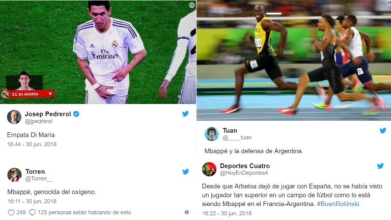 Los mejores tweets y memes del partidazo de octavos entre Francia y Argentina