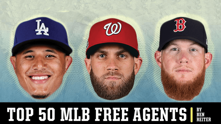 The Reiter 50: Ranking Manny Machado, Bryce Harper and Baseball's Top Free Agents
