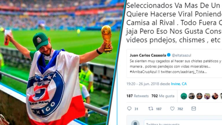 Jugador de Cruz Azul no aguanta la carrilla y pierde la cabeza en las redes sociales