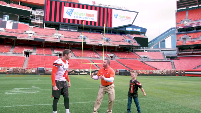 Breaking Down This Absolutely Bizarre Commercial Featuring Browns Punter Britton Colquitt