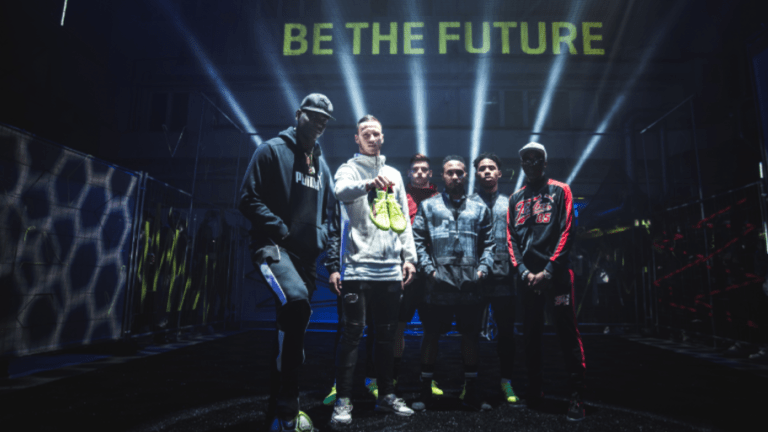 PHOTOS: Mario Balotelli Joins Marko Arnautovic at PUMA Launch to Test New 'FUTURE' Boots