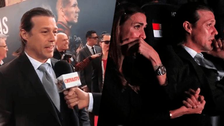 IMPERDIBLE | El emotivo mensaje de Almeyda a la afición en el estreno de la película de Chivas