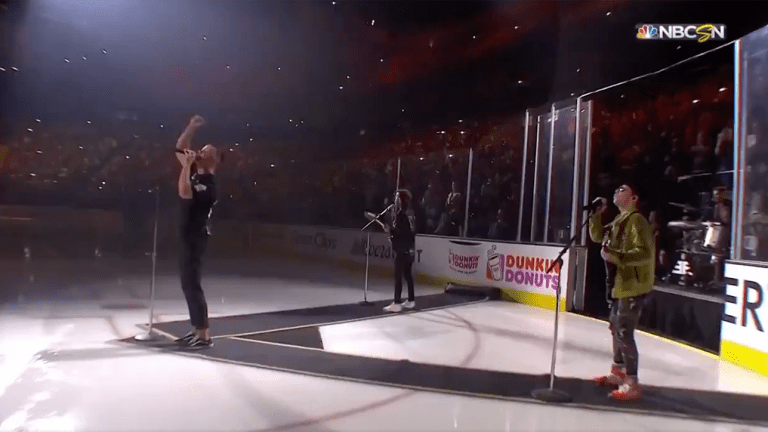 Watch: Golden Knights Bring Out Imagine Dragons in Stanley Cup Game 2 Pre-Game Show