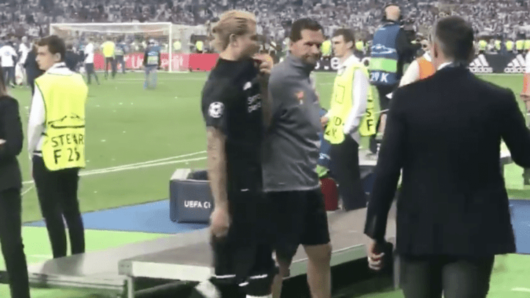 VIDEO: Liverpool Fans Love Jamie Carragher for Loris Karius Gesture After Champions League Calamity