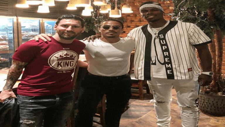 Las locas vacaciones de Messi en Dubai junto a su familia, Paul Pogba y Salt Bae