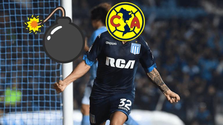 """MERCADO   El """"9"""" que ya jugó en la Liga MX y que podría llegar al América para el Apertura 2018"""