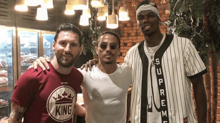Revealed: The Conversation Between Paul Pogba & Lionel Messi at Dubai Restaurant