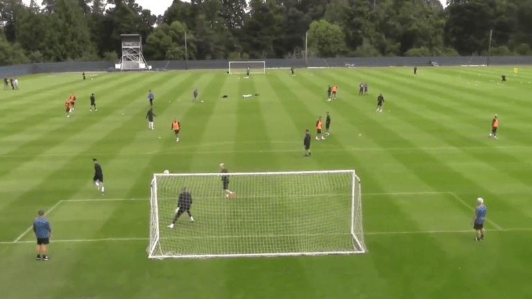 VIDEO: Ayoze Perez Scores Outrageous Training Goal as Newcastle Prepare for New Season