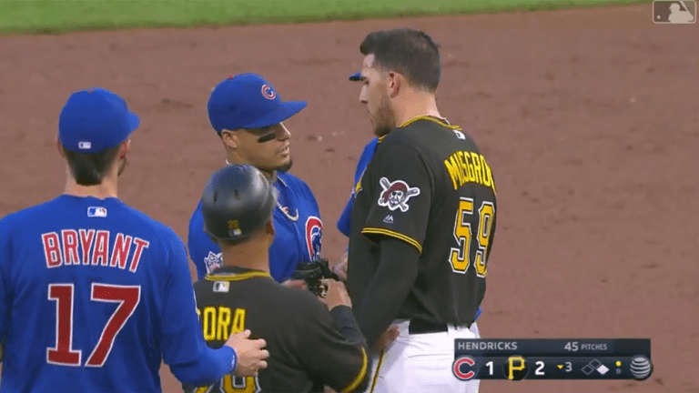 Watch: Cubs, Pirates Involved in Bench-Clearing Incident