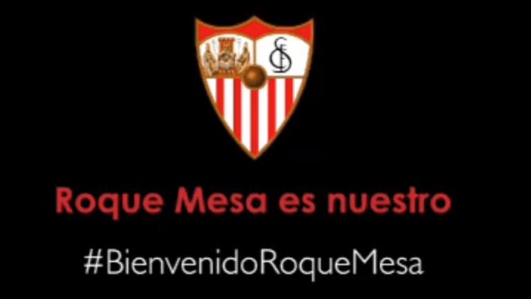 OFICIAL | El Sevilla consigue la cesión de Roque Mesa