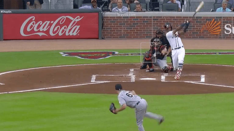 Watch: Acuna Jr. Becomes Youngest Player to Homer in Five Straight Games