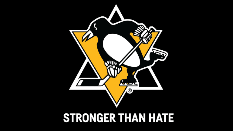 Penguins to Wear 'Stronger Than Hate' Patches in Support of Synagogue Shooting Victims