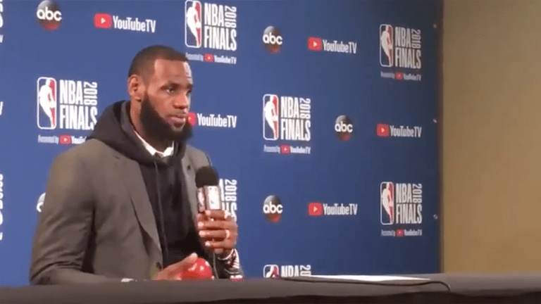 Watch: LeBron James Says Odds Have Been Stacked Against Him Since He Was Young