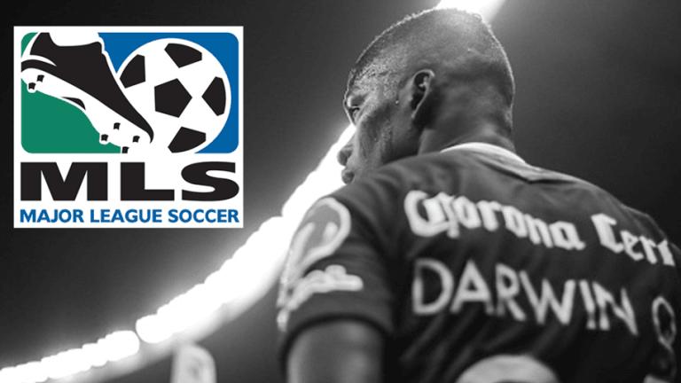 CASI CERRADO | Darwin Quintero está a nada de dejar el América por un equipo de la MLS