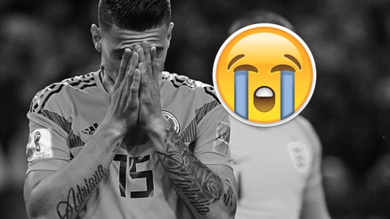 LAMENTABLE | La triste forma en la que  Mateus Uribe concluyó un gran Mundial