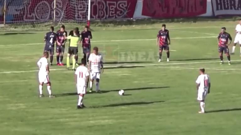SORPRENDIERON A TODOS   La gran jugada preparada que terminó en gol