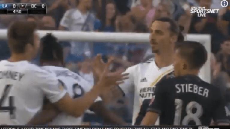 ENCENDIDO: Zlatan marcó por tercer partido consecutivo y alcanzó una racha que no lograba desde 2016