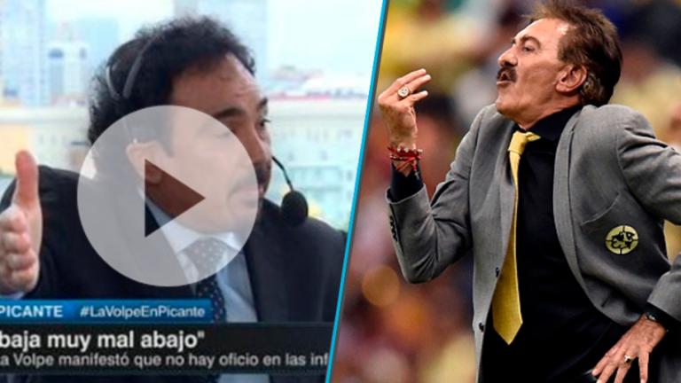 PICANTE   Nueva pelea entre Hugo Sáchez y La Volpe