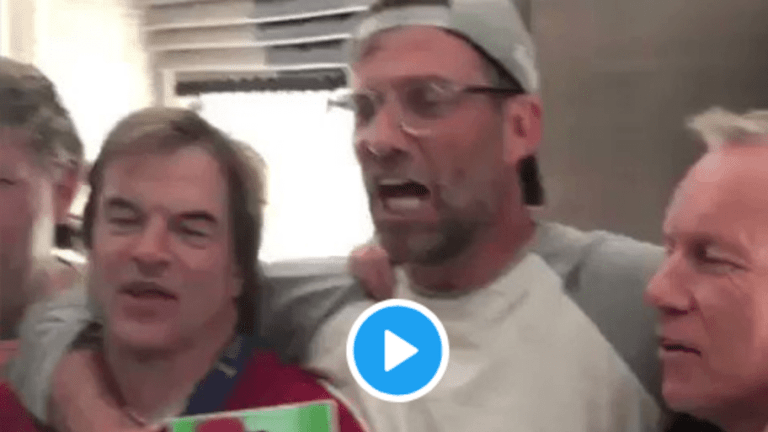 Video: Jurgen Klopp Helps Console Liverpool Fans With Reds Chant After UCL Loss to Real Madrid