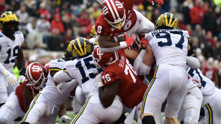 Rapid Reaction: Indiana Has No Answer For Patterson, Michigan in 39-14 Loss