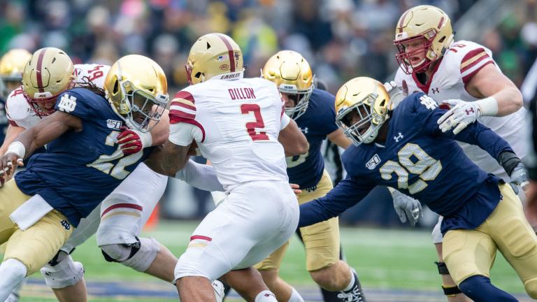 Grades: Notre Dame Defense vs. Boston College