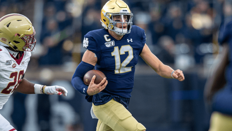Ian Book To Return To Notre Dame In 2020